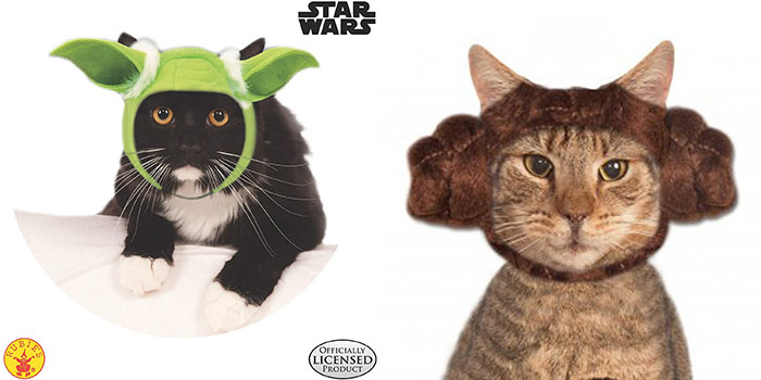 Rubie's officially licensed Star Wars cat costumes
