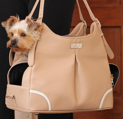 Introducing The Mia Michele Designer Dog Carrier Handbags By Doggie Design