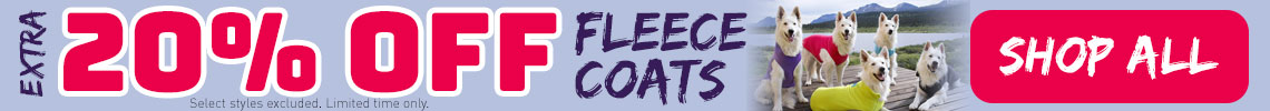20% Off Fleece Coats