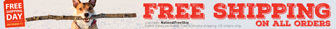 National Free Shipping Day!