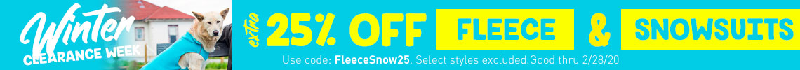 Extra 25% Off Fleece & Snowsuits