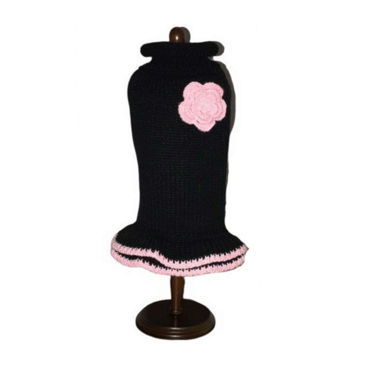 Dallas Dogs Lil Black Dog Sweater Dress