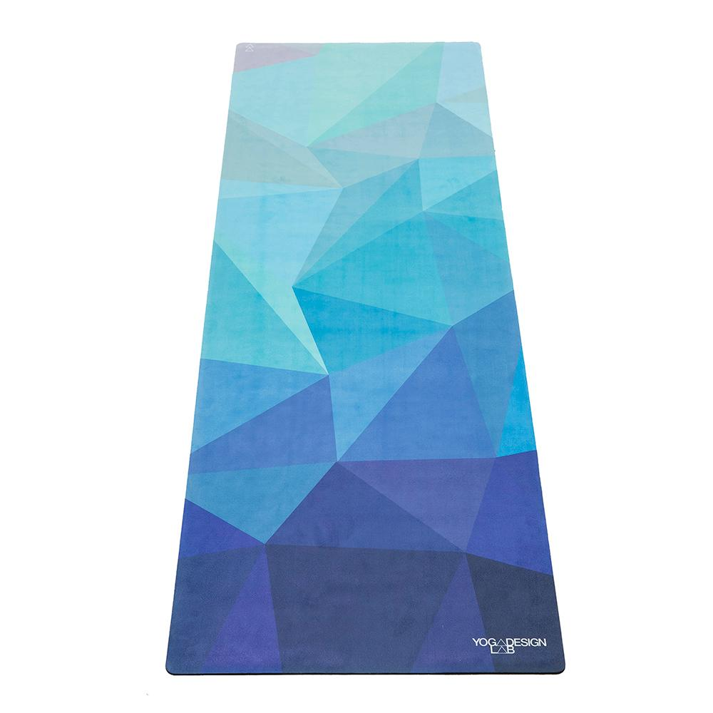 1.0mm Travel Yoga Mat - Geo Blue