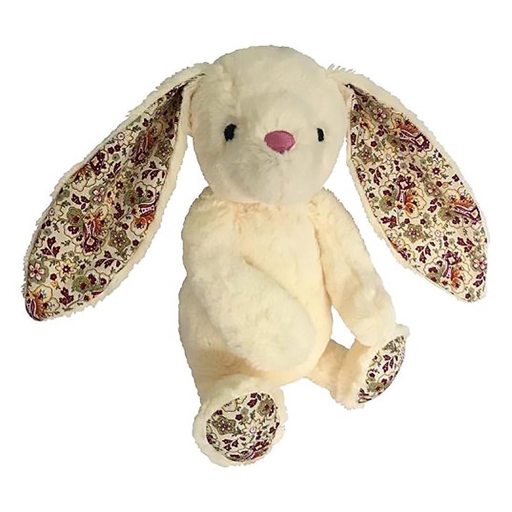 Plush Easter Bunny Dog Toy - Ivory