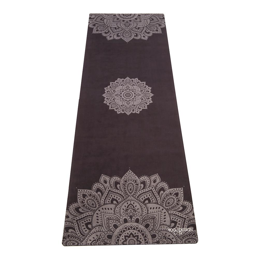 1.5mm Travel Yoga Mat - Mandala Black