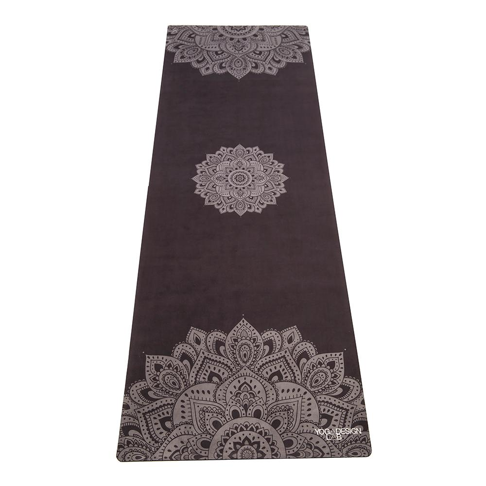1.5mm Travel Yoga Mat - Mandala Black