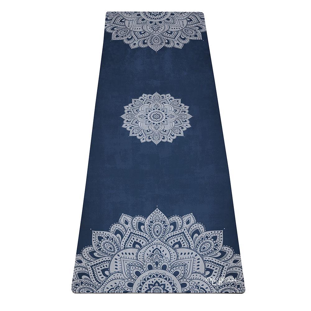 1.5mm Travel Yoga Mat - Mandala Sapphire