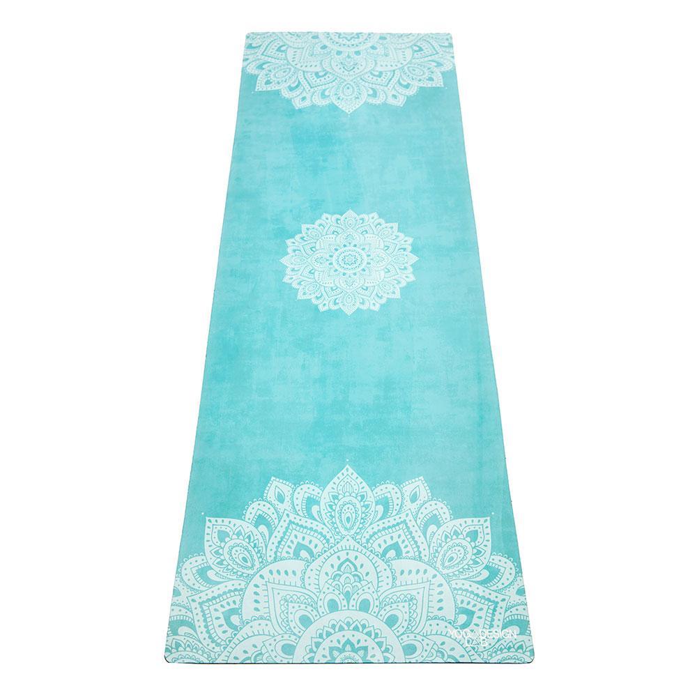 1.5mm Travel Yoga Mat - Mandala Turquoise