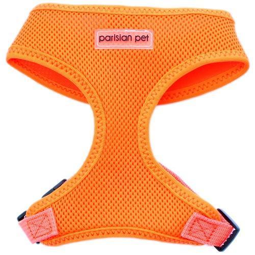 Parisian Pet Mesh Freedom Dog Harness - Neon Orange