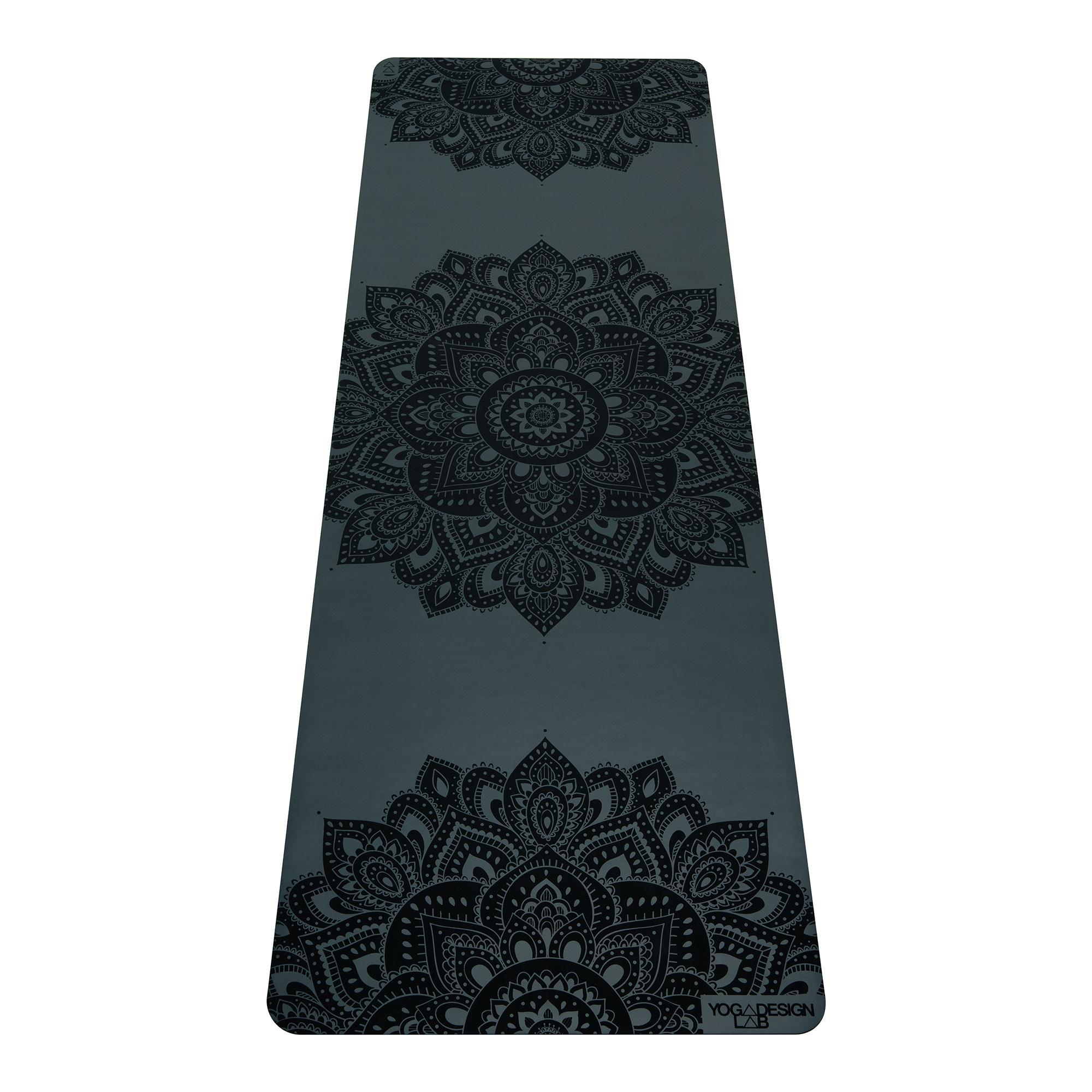 3.0mm Infinity Yoga Mat - Mandala Charcoal