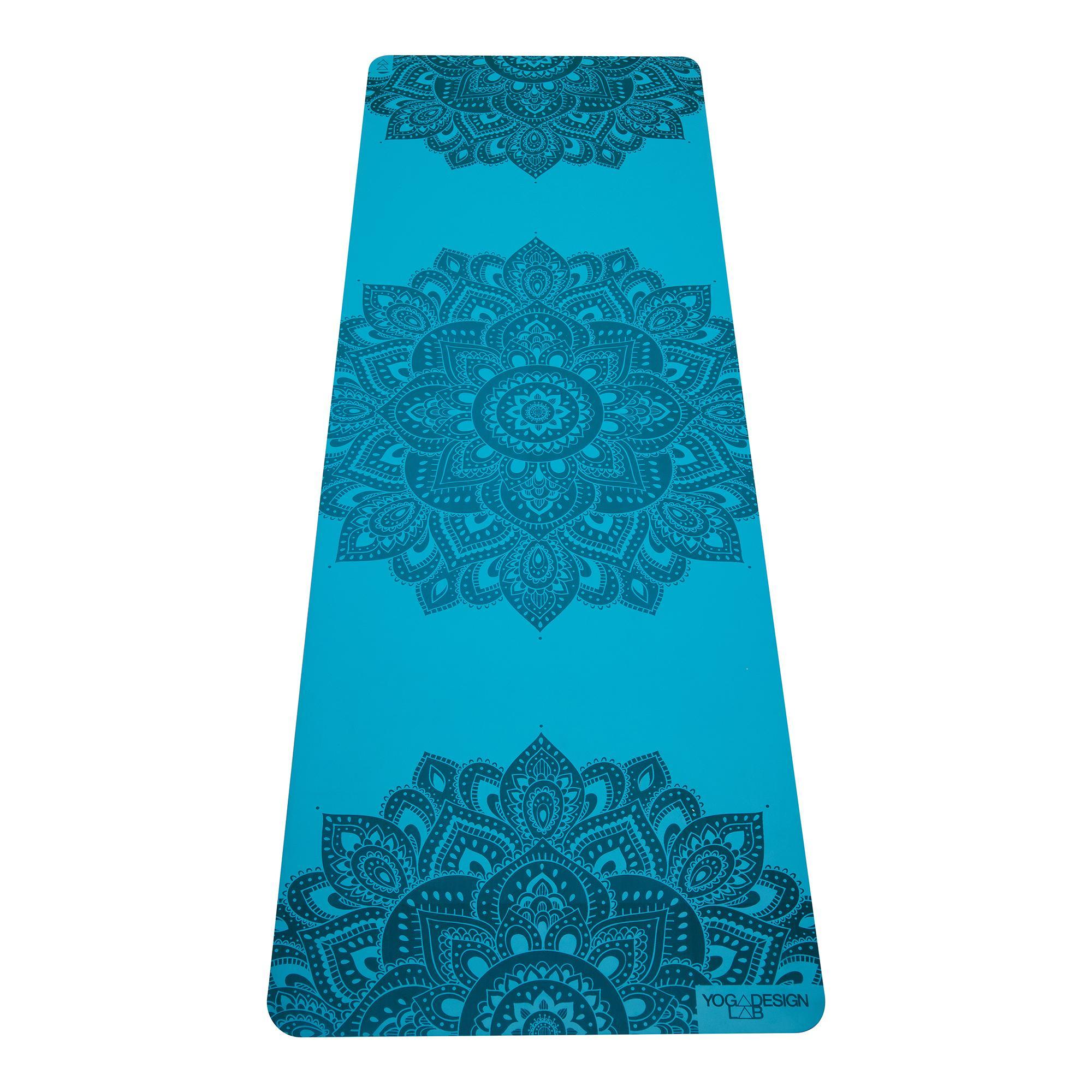 5.0mm Infinity Yoga Mat - Mandala Aqua
