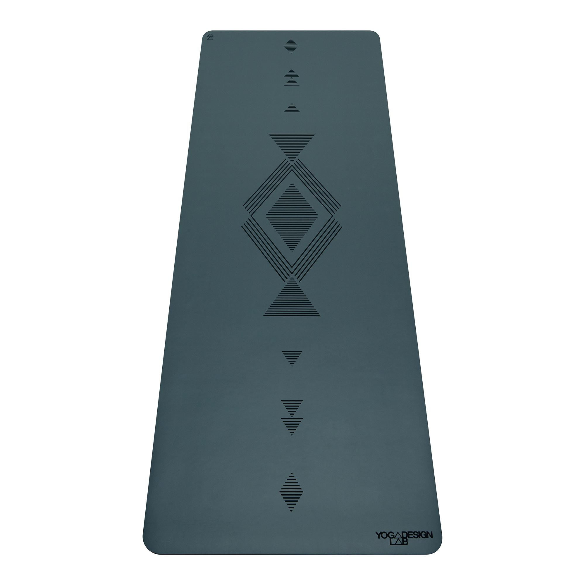 5.0mm Infinity Yoga Mat - Tribal Charcoal