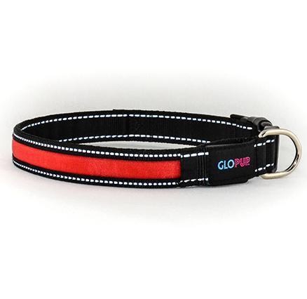 GLOPUP LED Dog Collar - Red