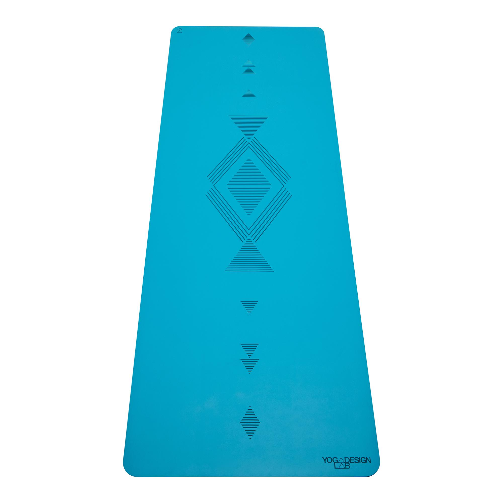 5.0mm Infinity Yoga Mat - Tribal Aqua