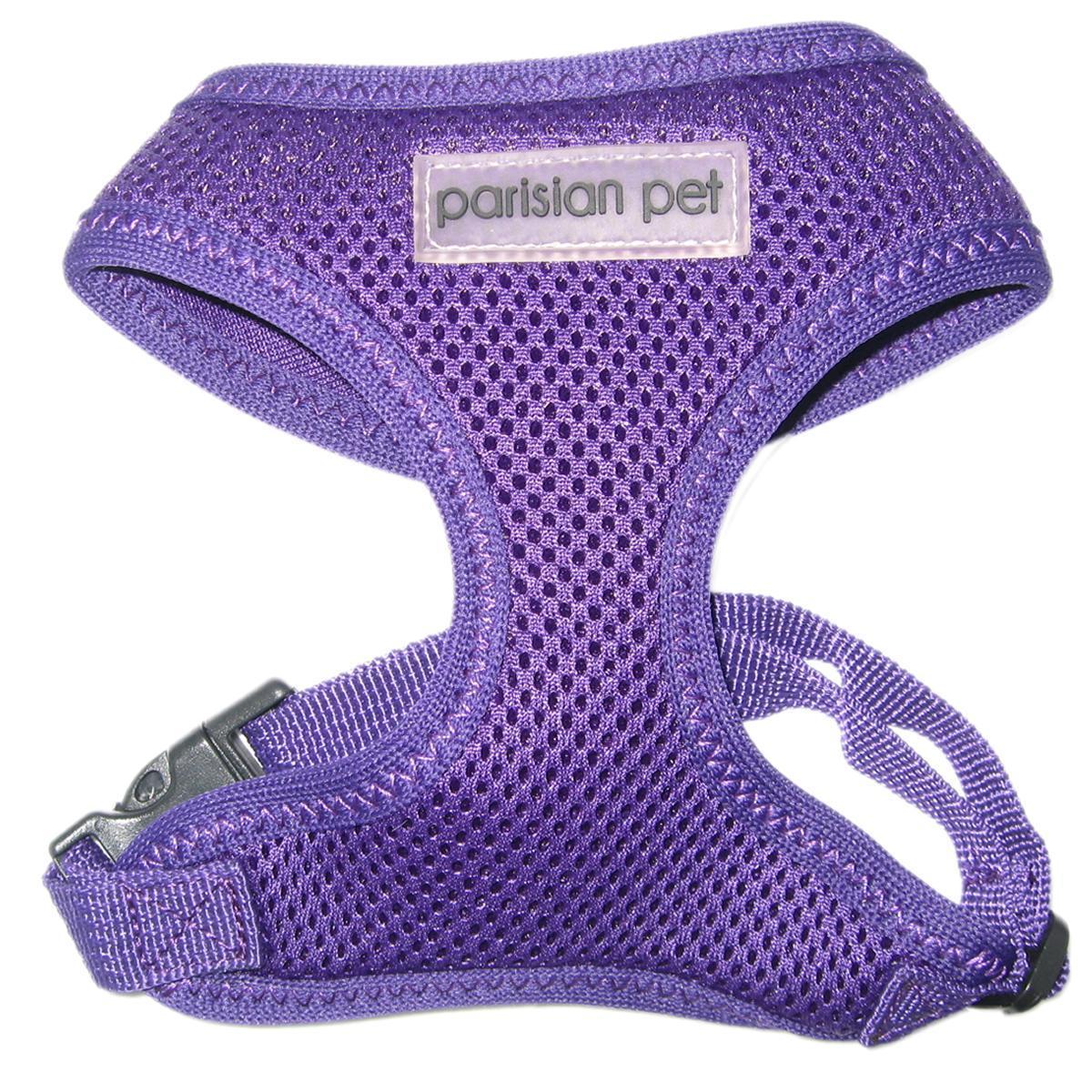 Parisian Pet Mesh Freedom Dog Harness - Lilac