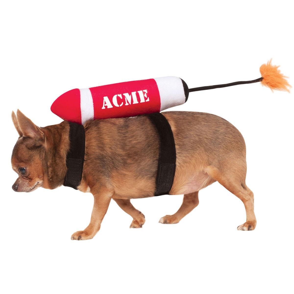 Acme Dynamite Dog Costume by Rubies
