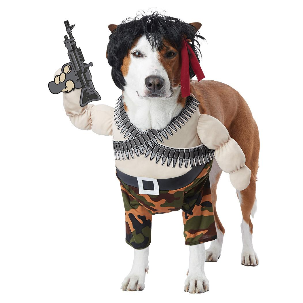 Action Hero Halloween Dog Costume