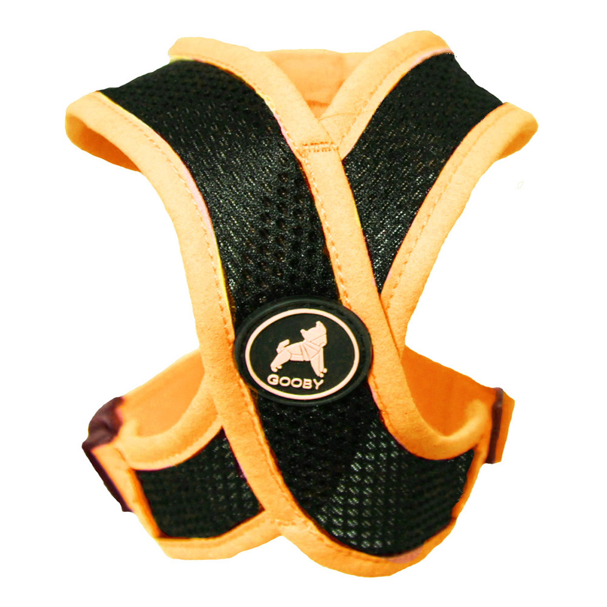 active x dog harnessgooby orange 8625 active x dog harness by gooby orange baxterboo