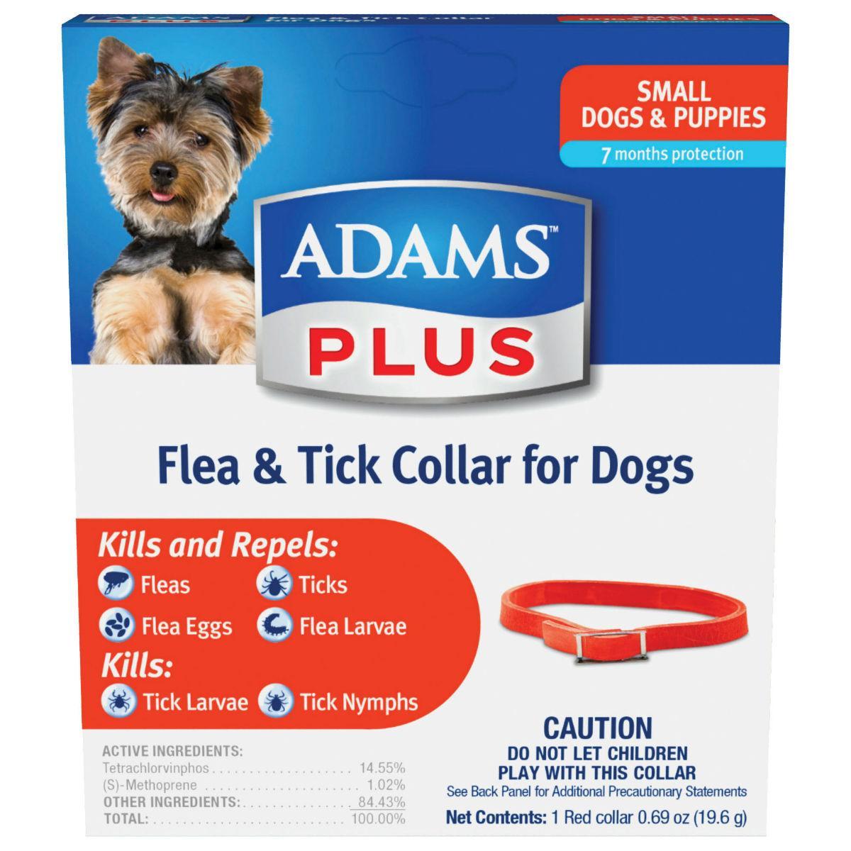 Adams Plus Flea & Tick Dog Collar