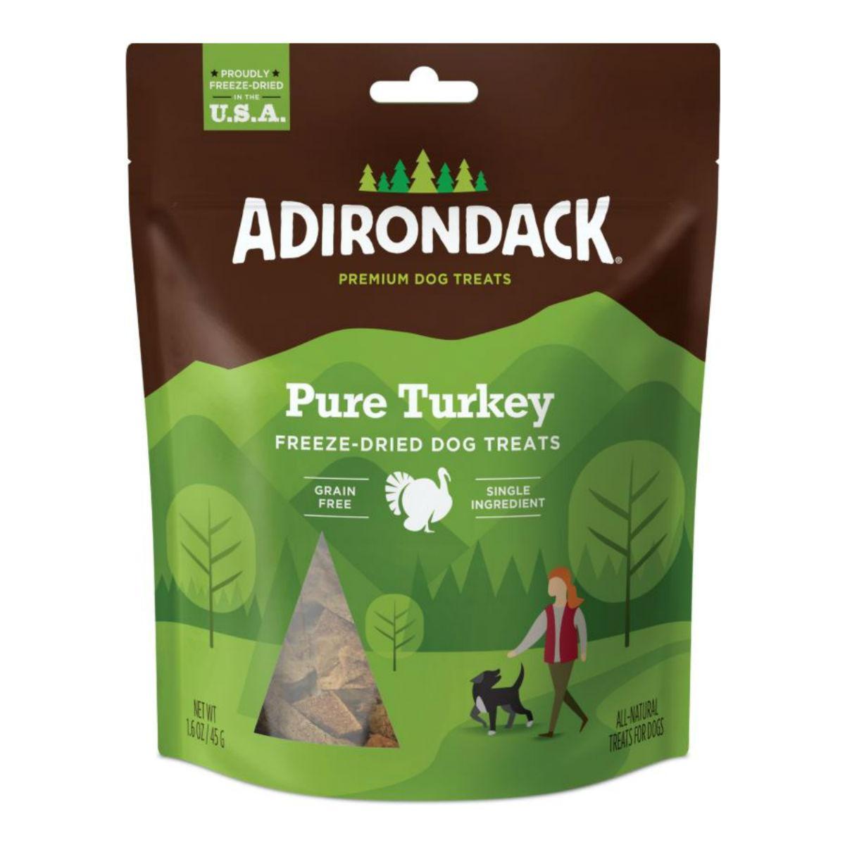 Adirondack Freeze-Dried Grain-Free Dog Treats - Pure Turkey Breast
