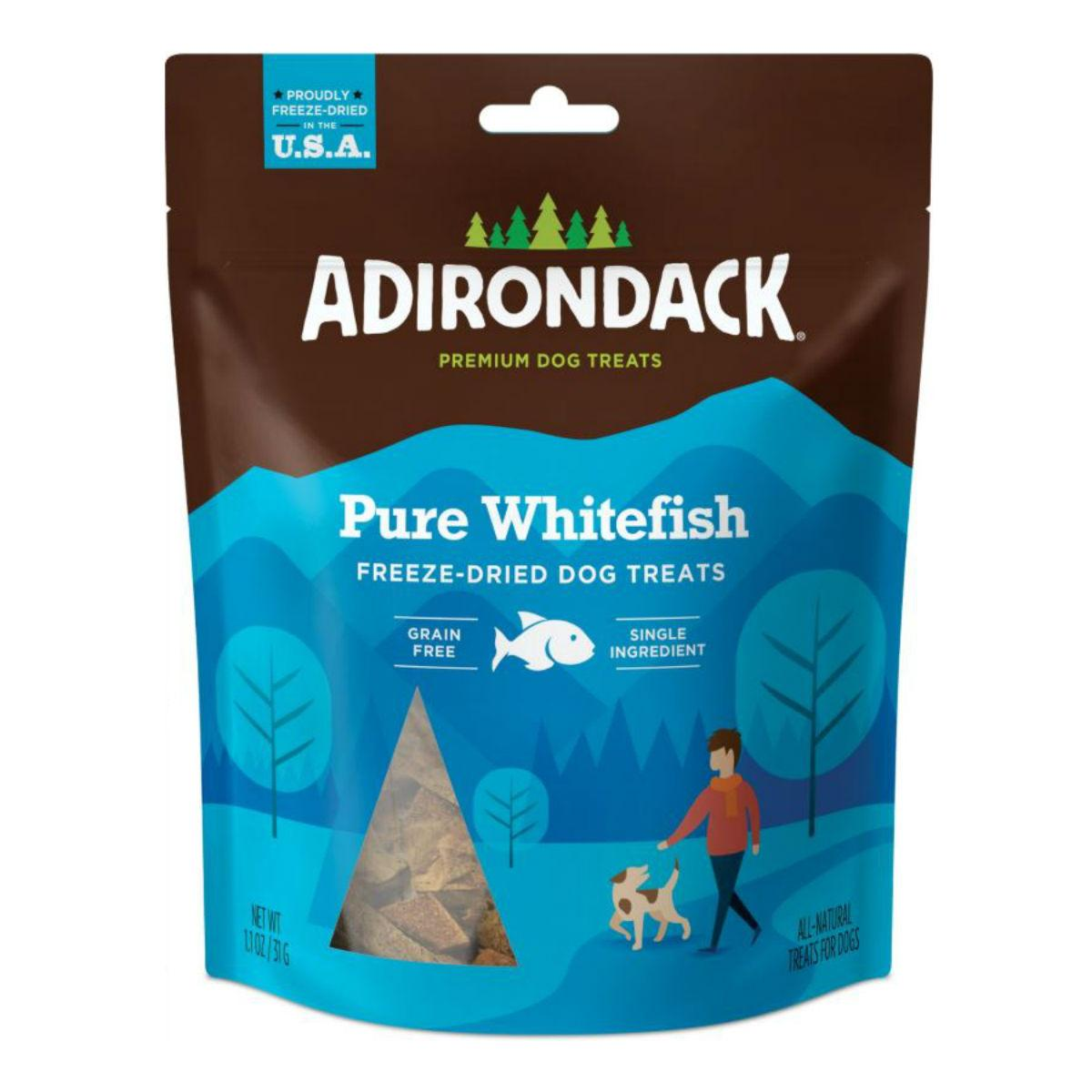 Adirondack Freeze-Dried Grain-Free Dog Treats - Pure Whitefish