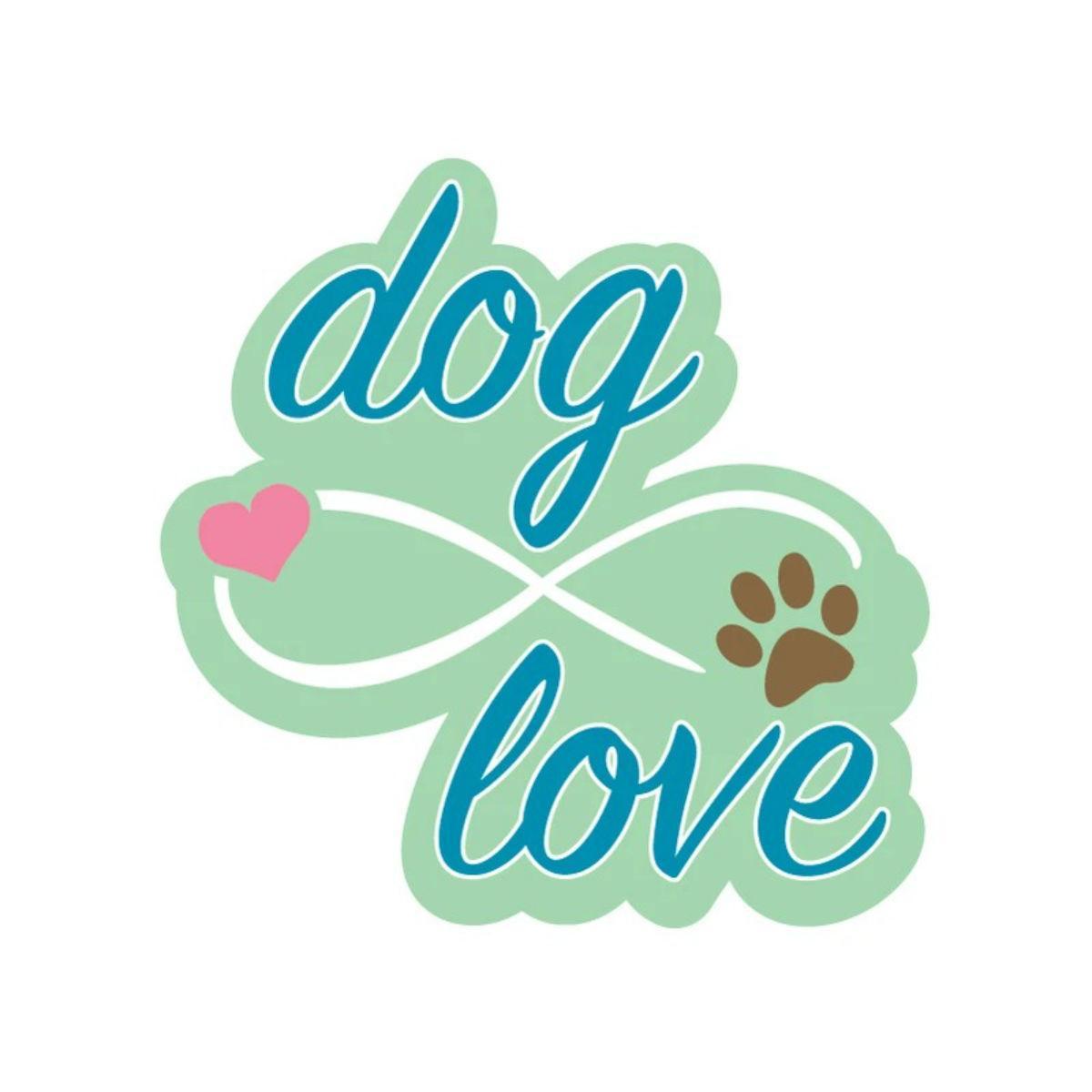 Infinite Dog Love Sticker by Dog Speak