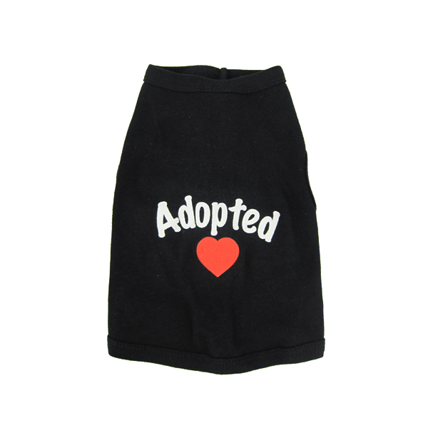 Adopted Tank Top - Black