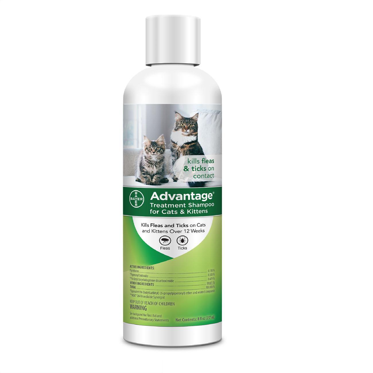 Advantage® Flea and Tick Treatment Shampoo for Cats and Kittens