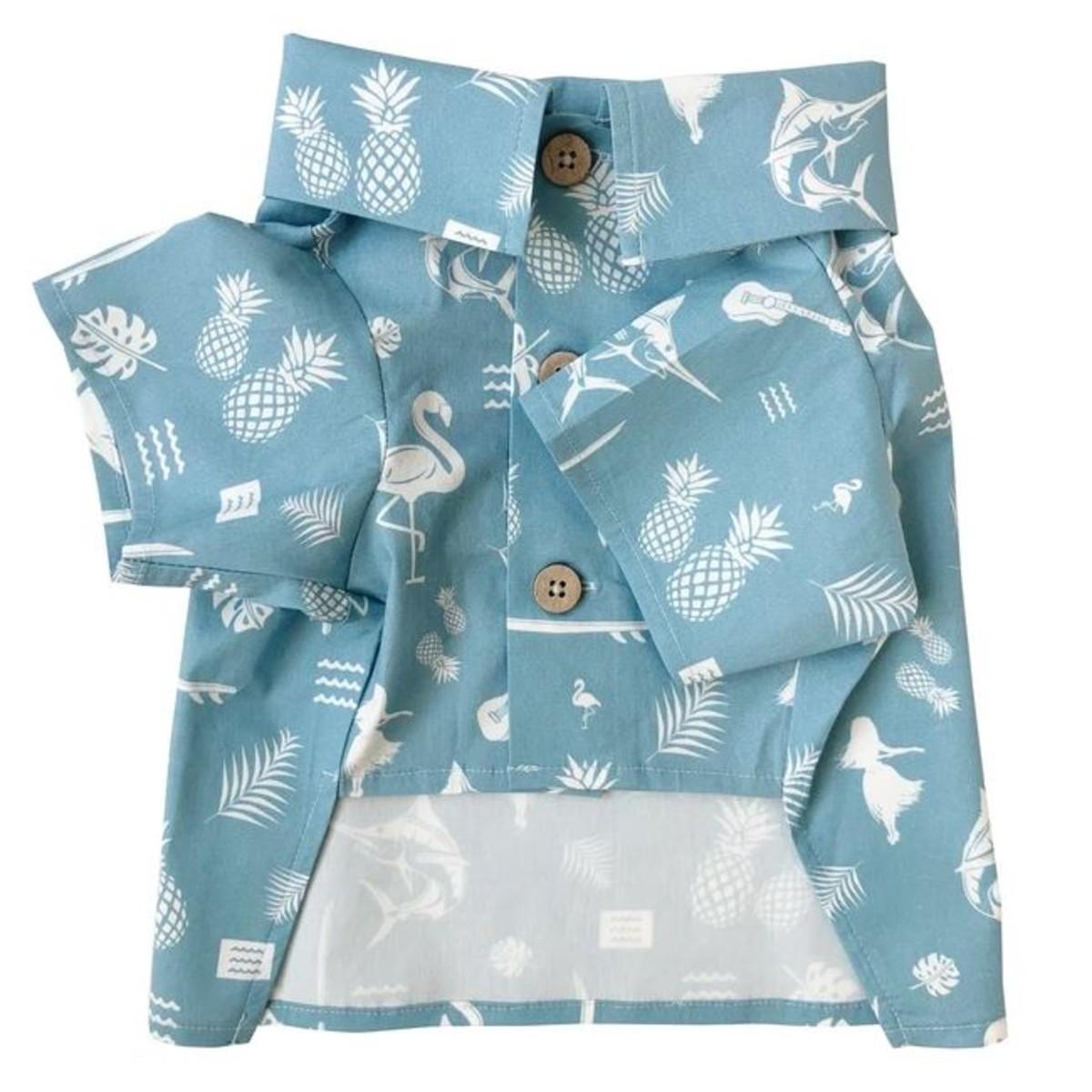 Tiki Time BBQ Dog Shirt by Dog Threads