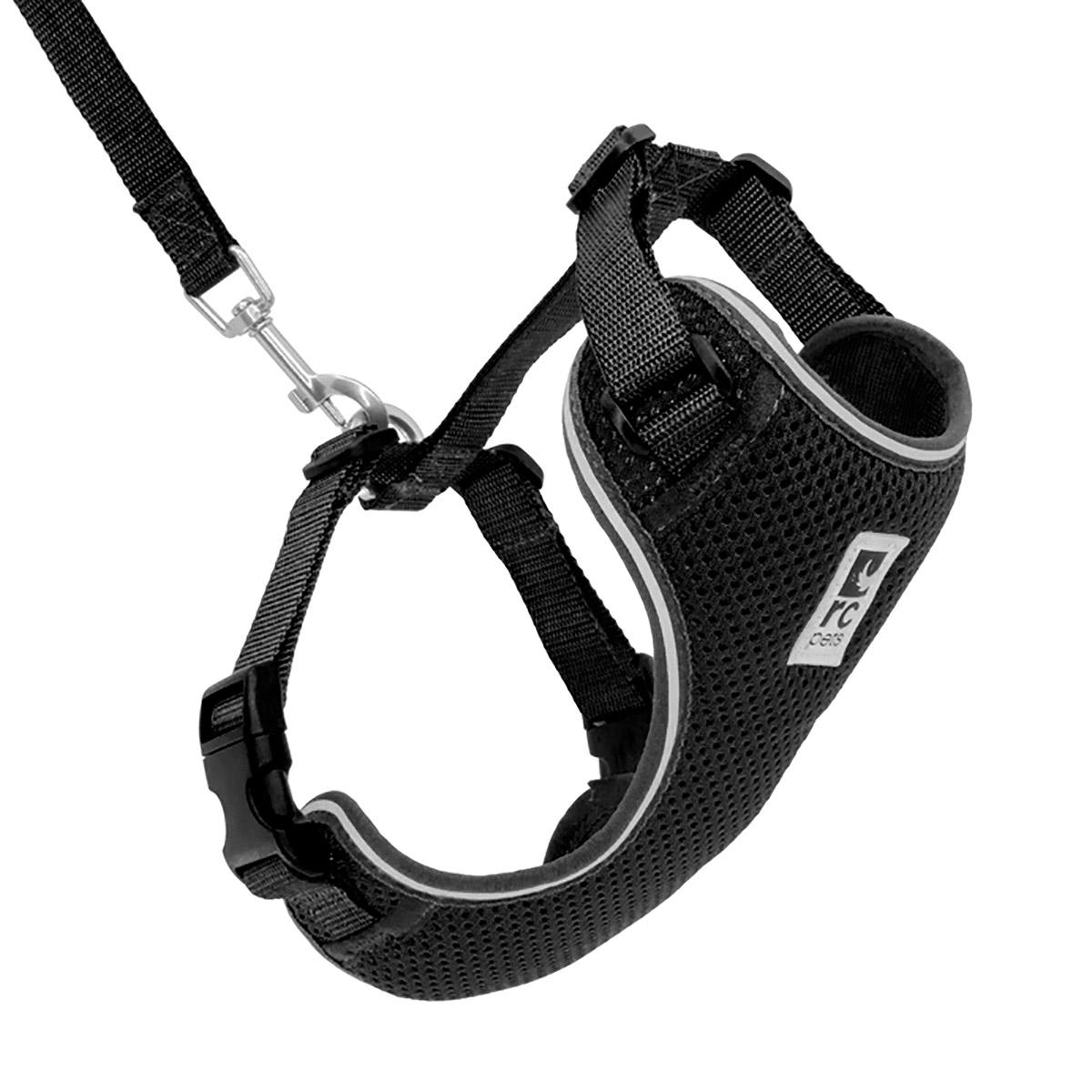 Adventure Kitty Cat Harness with Leash by RC Pets - Black