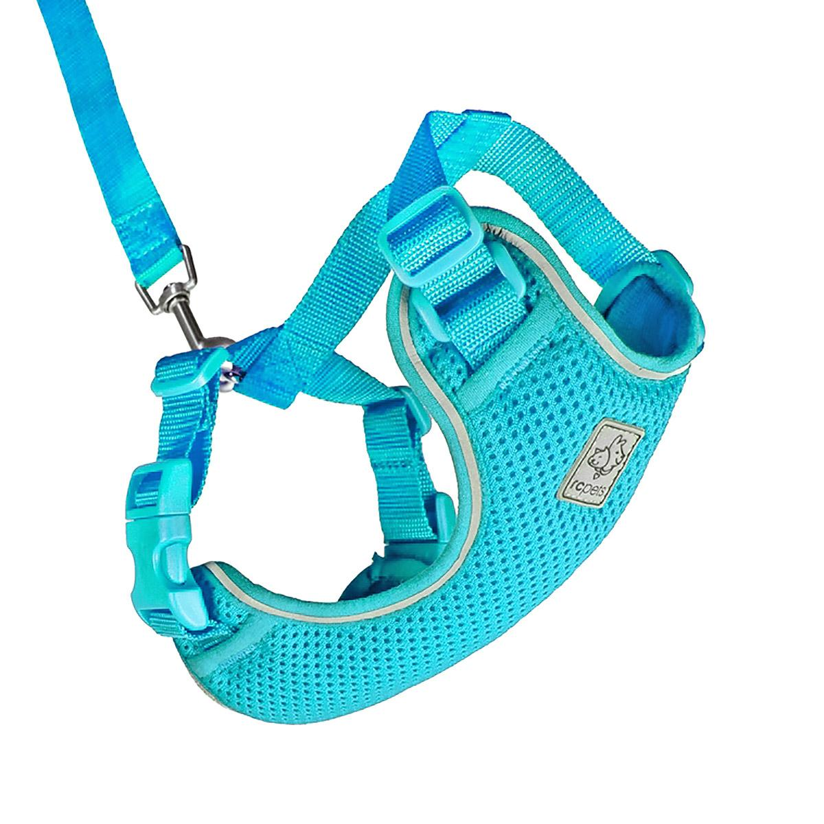 Adventure Kitty Cat Harness with Leash by RC Pet - Teal