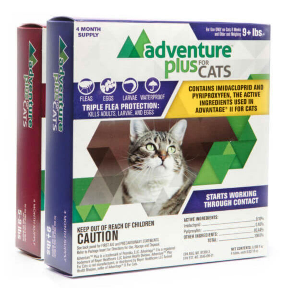 Adventure Plus Flea Protection Cat Treatment