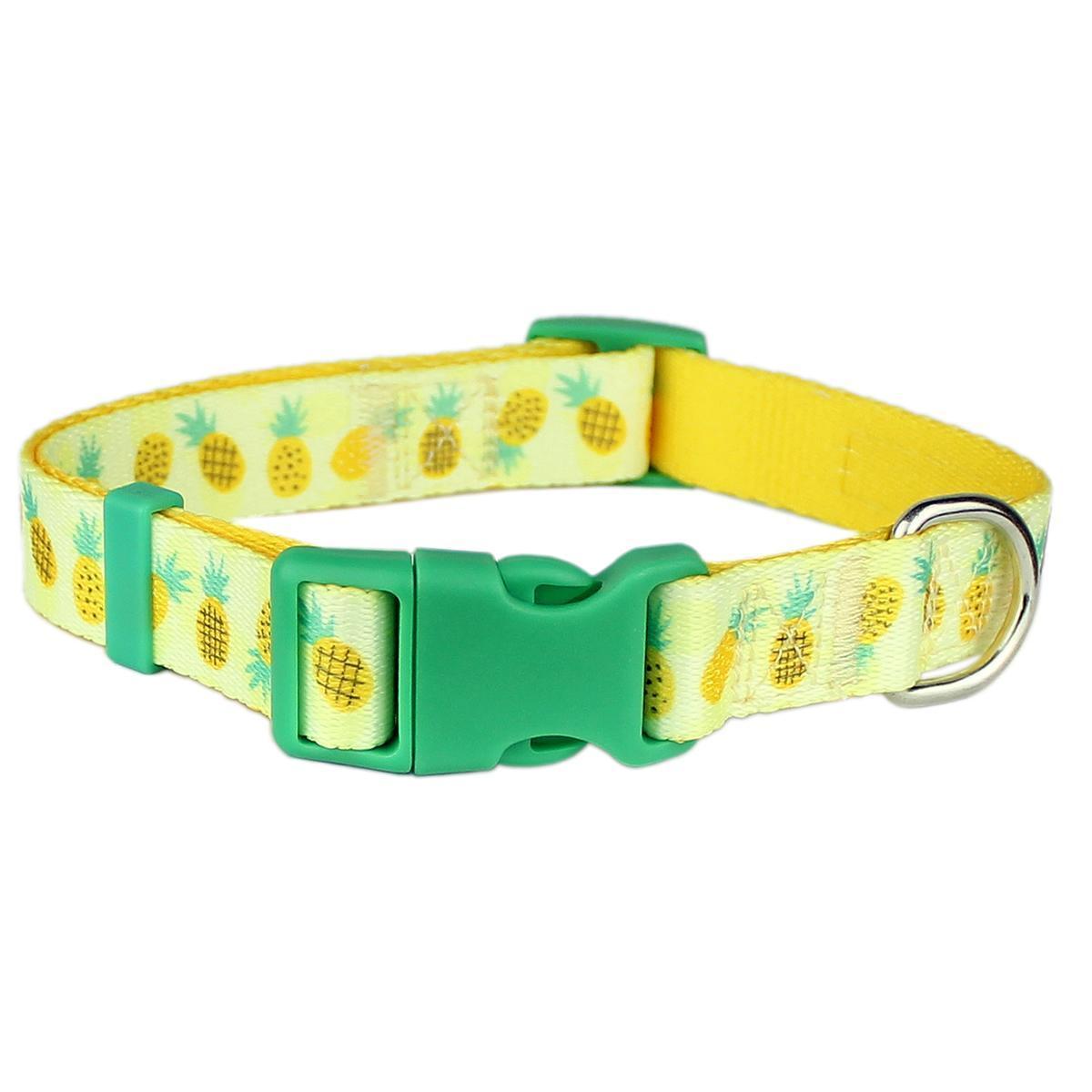 Parisian Pet Pineapples Dog Collar