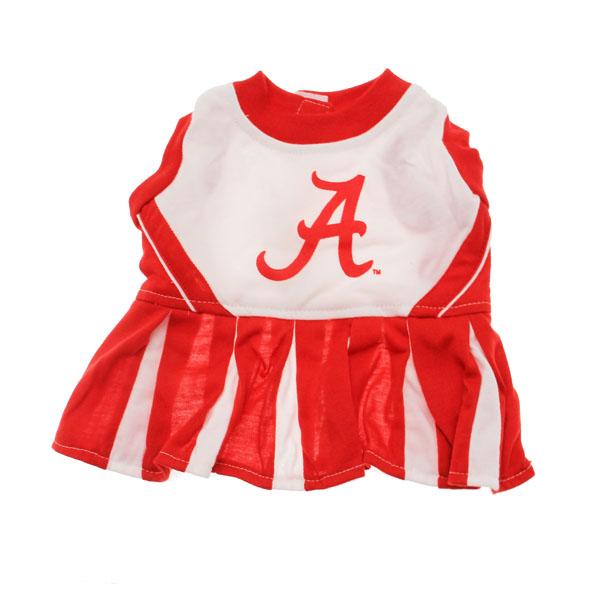 Alabama Crimson Tide Cheerleader Dog Dress