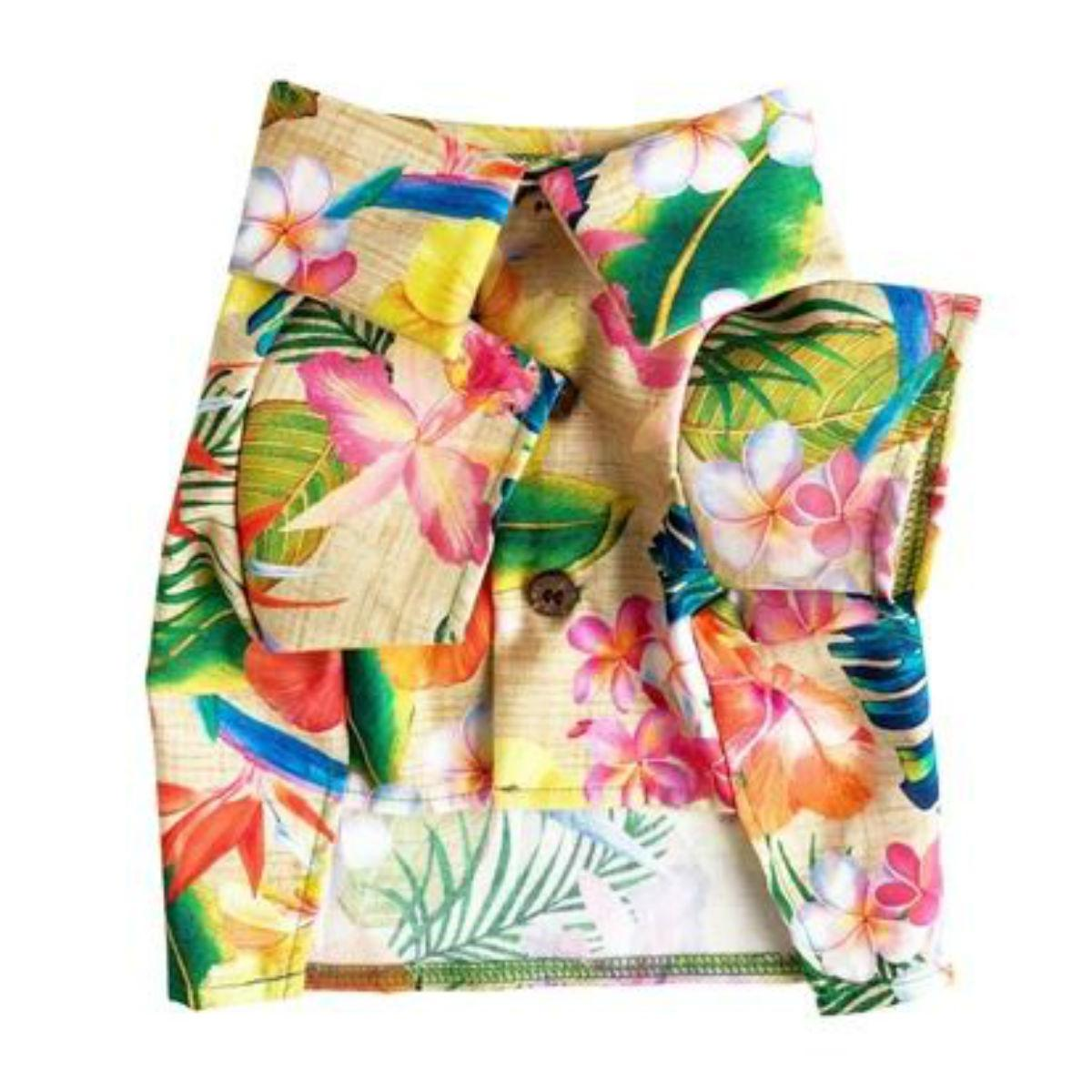 Tropical BBQ Dog Shirt by Dog Threads