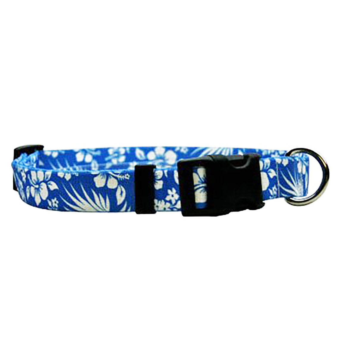 Aloha Blue Dog Collar by Yellow Dog