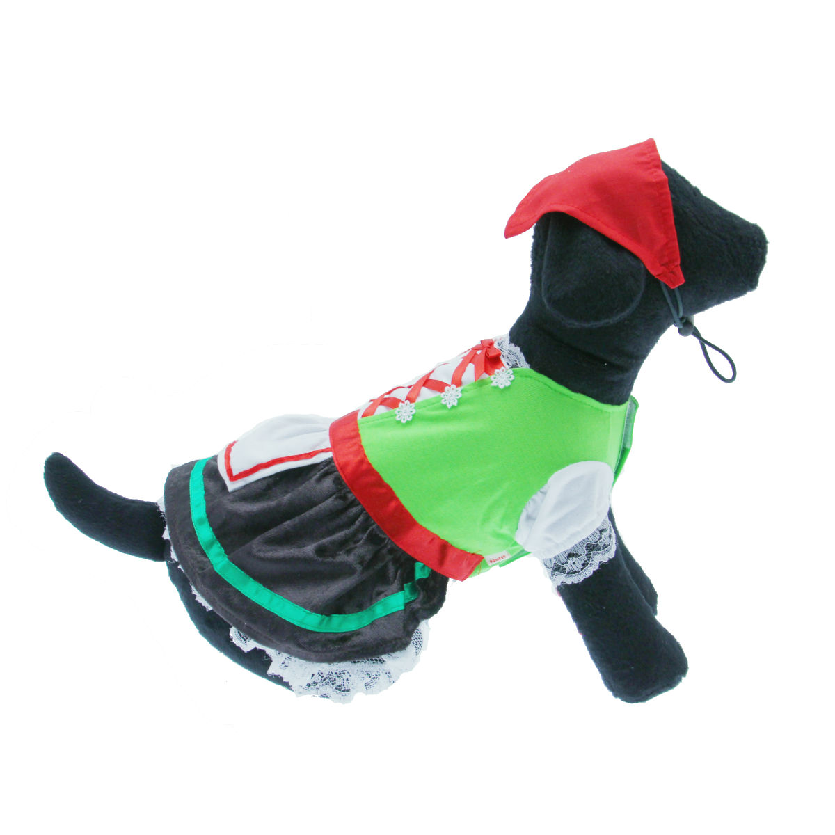 Alpine Girl Halloween Dog Costume