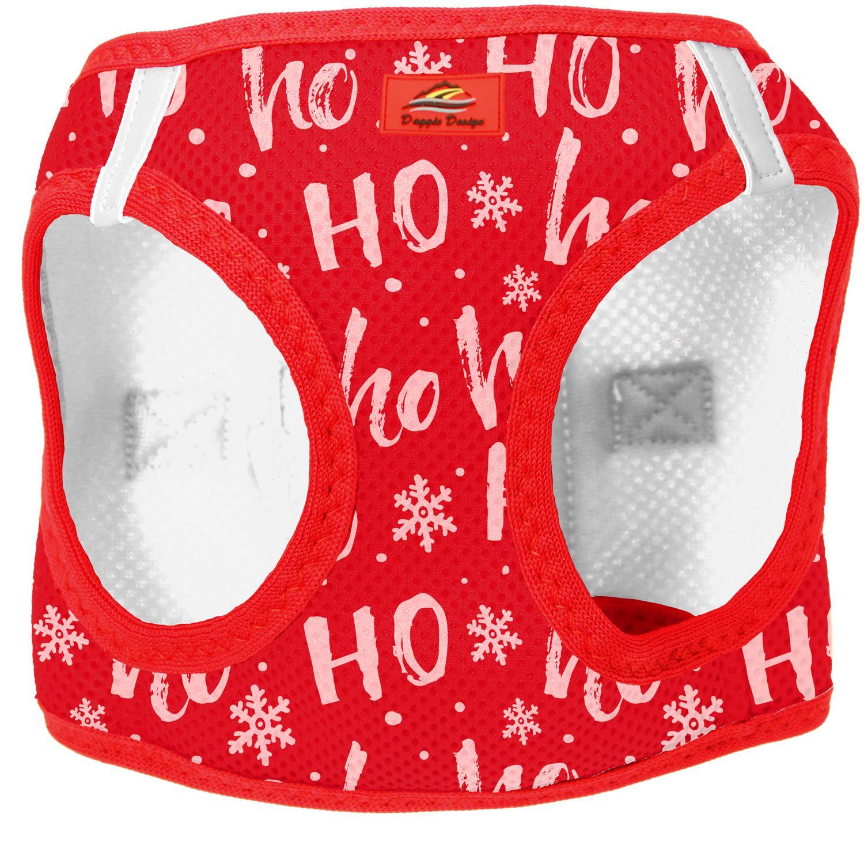 American River Choke Free Dog Harness Holiday Line - HO HO HO