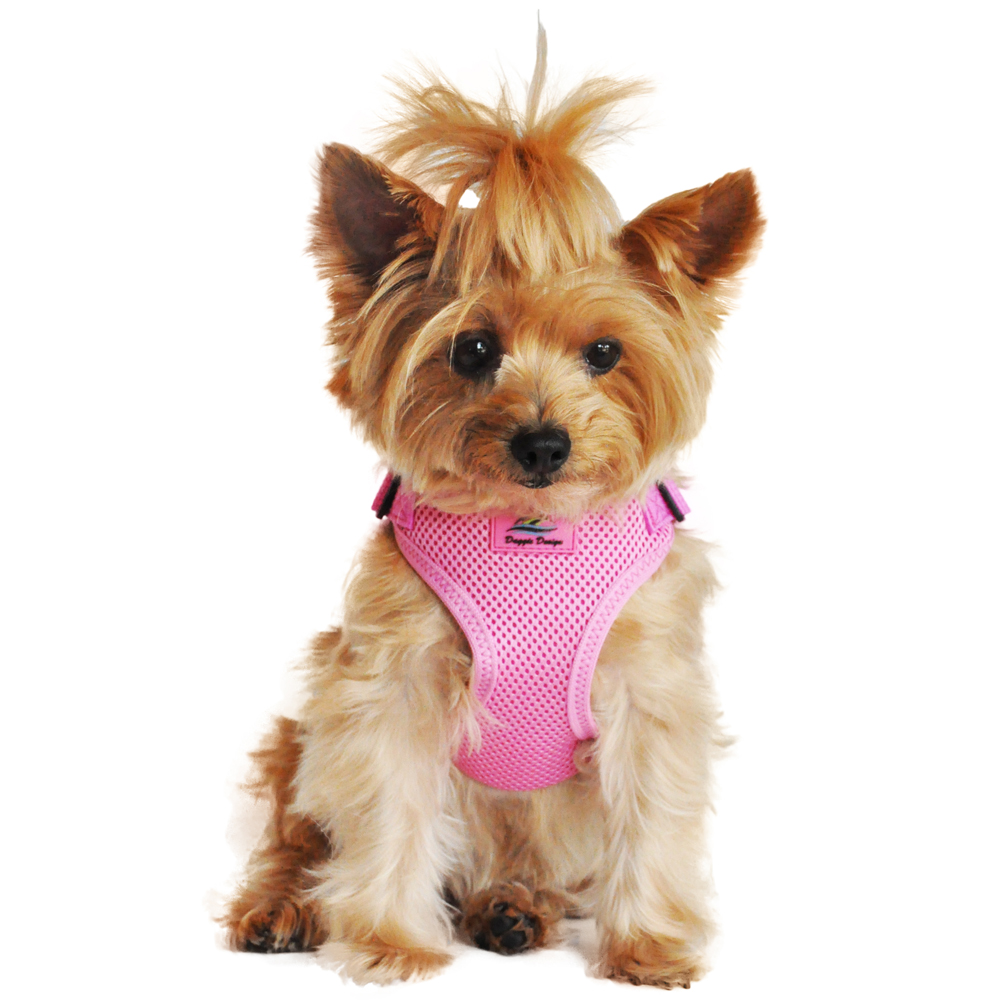 Wrap and Snap Choke Free Dog Harness by Doggie Design - Candy Pink