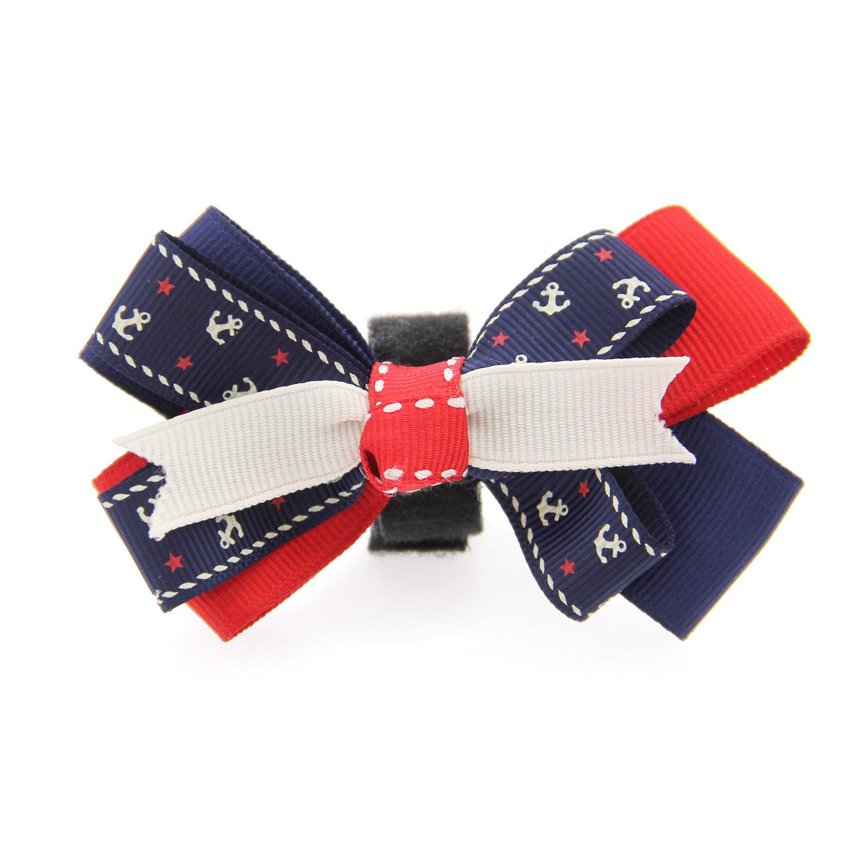 Anchor Dog Collar Attachment - Blue