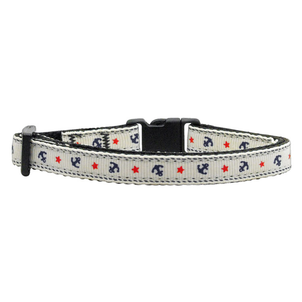 Anchors Nylon Safety Cat Collar - White