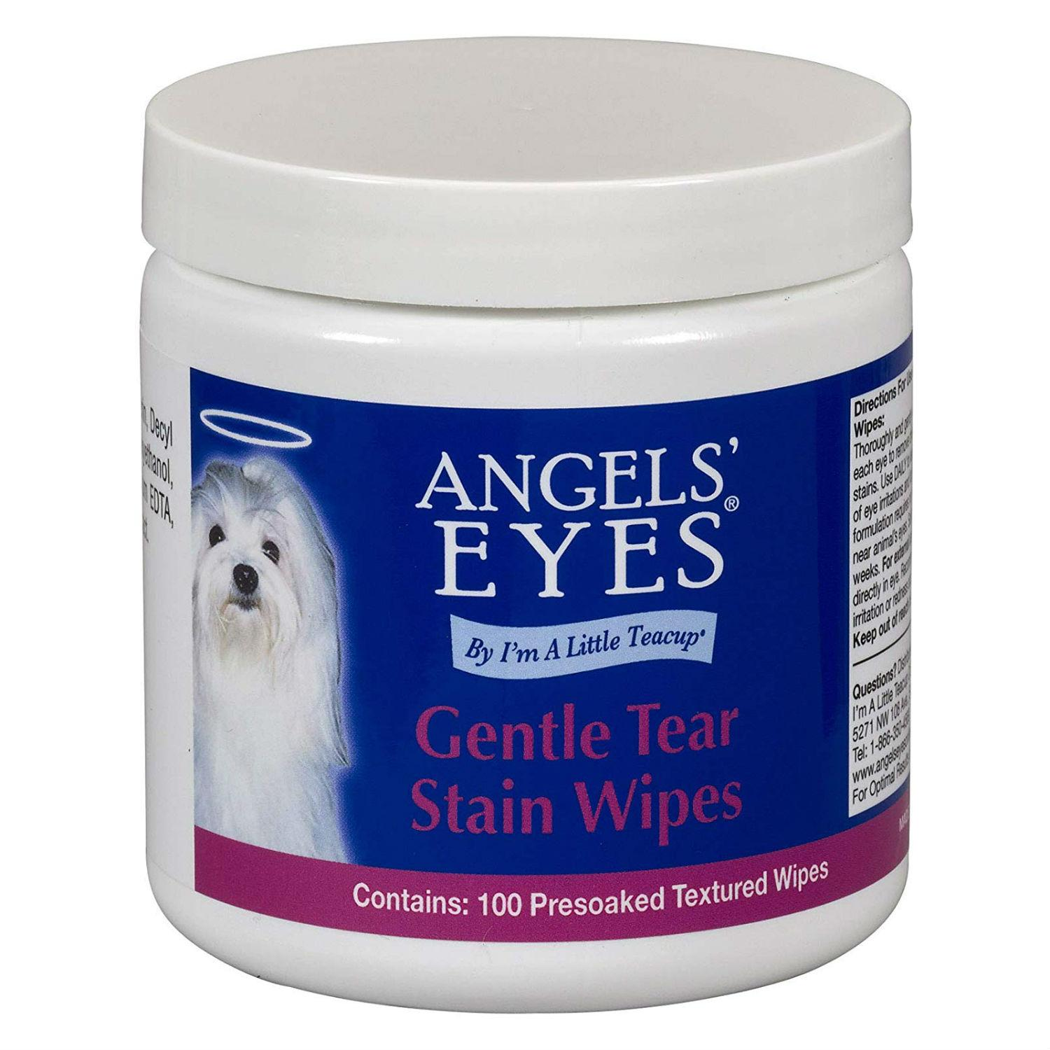 Angels' Eyes Gentle Dog Tear Stain Wipes