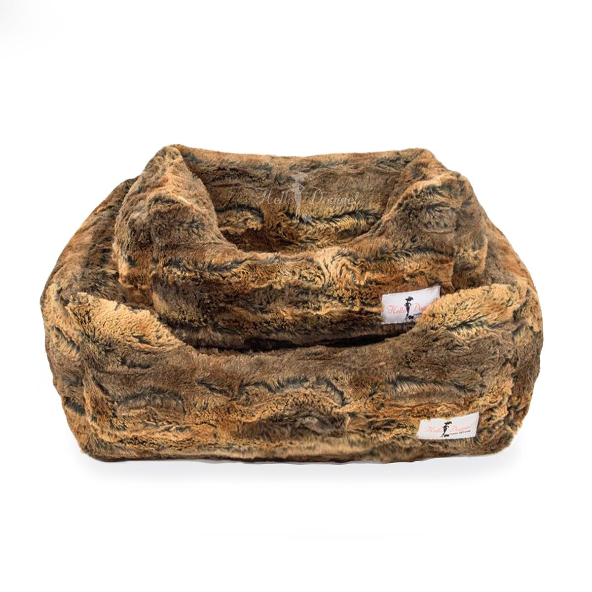 Sensational Animal Print Luxe Dog Bed By Hello Doggie Red Fox Ocoug Best Dining Table And Chair Ideas Images Ocougorg