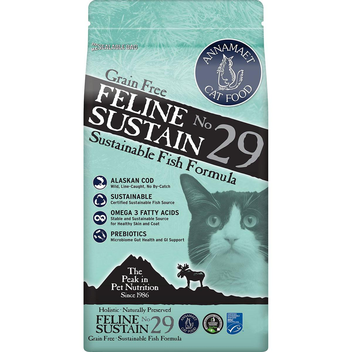 Annamaet Grain-Free Feline Sustain No. 29 Dry Cat Food