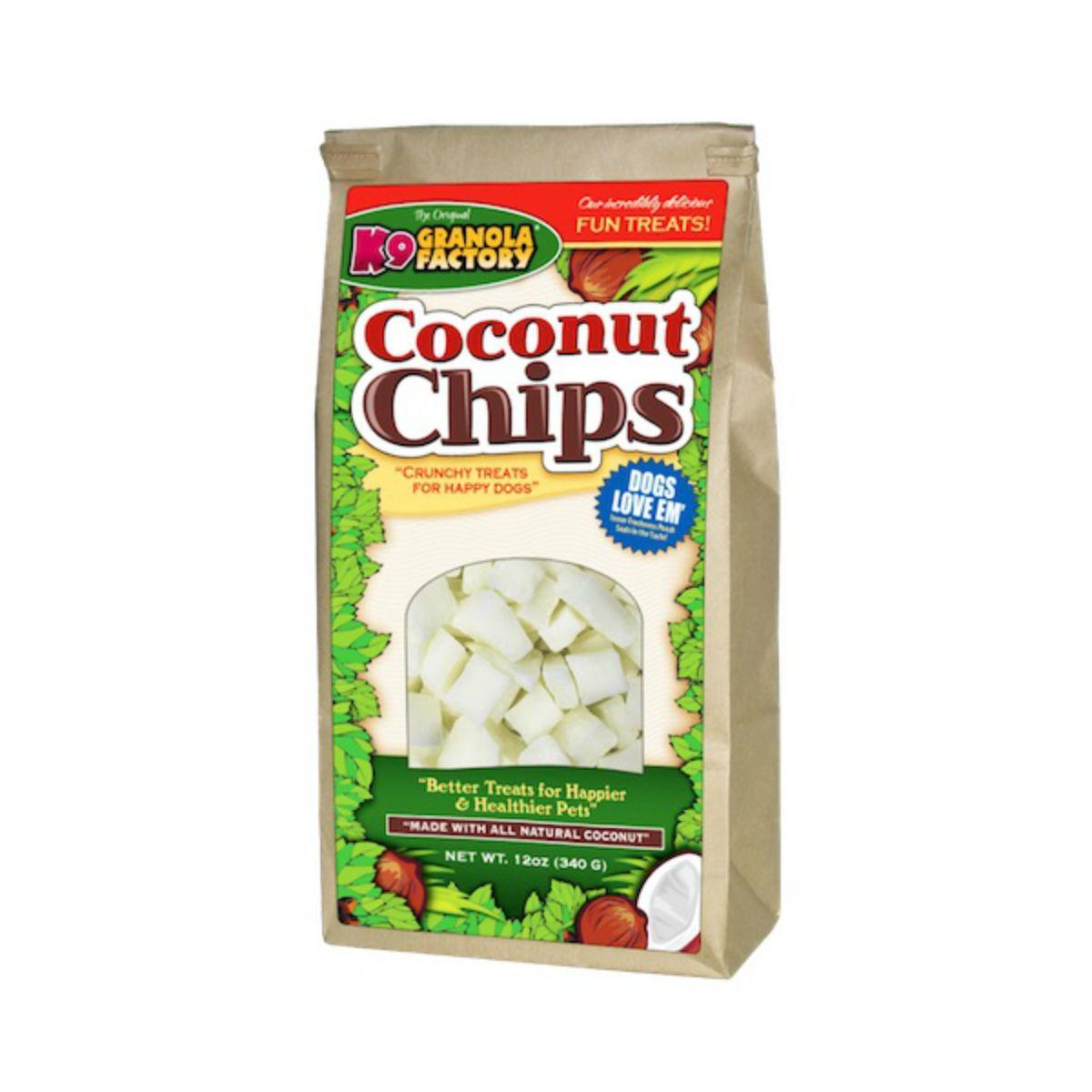 K9 Granola Factory Coconut Chips Dog Treat by K9 Granola Factory