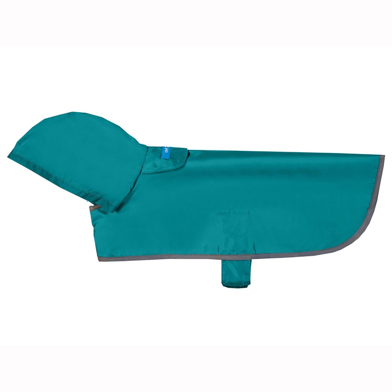 Aqua Packable Dog Rain Poncho