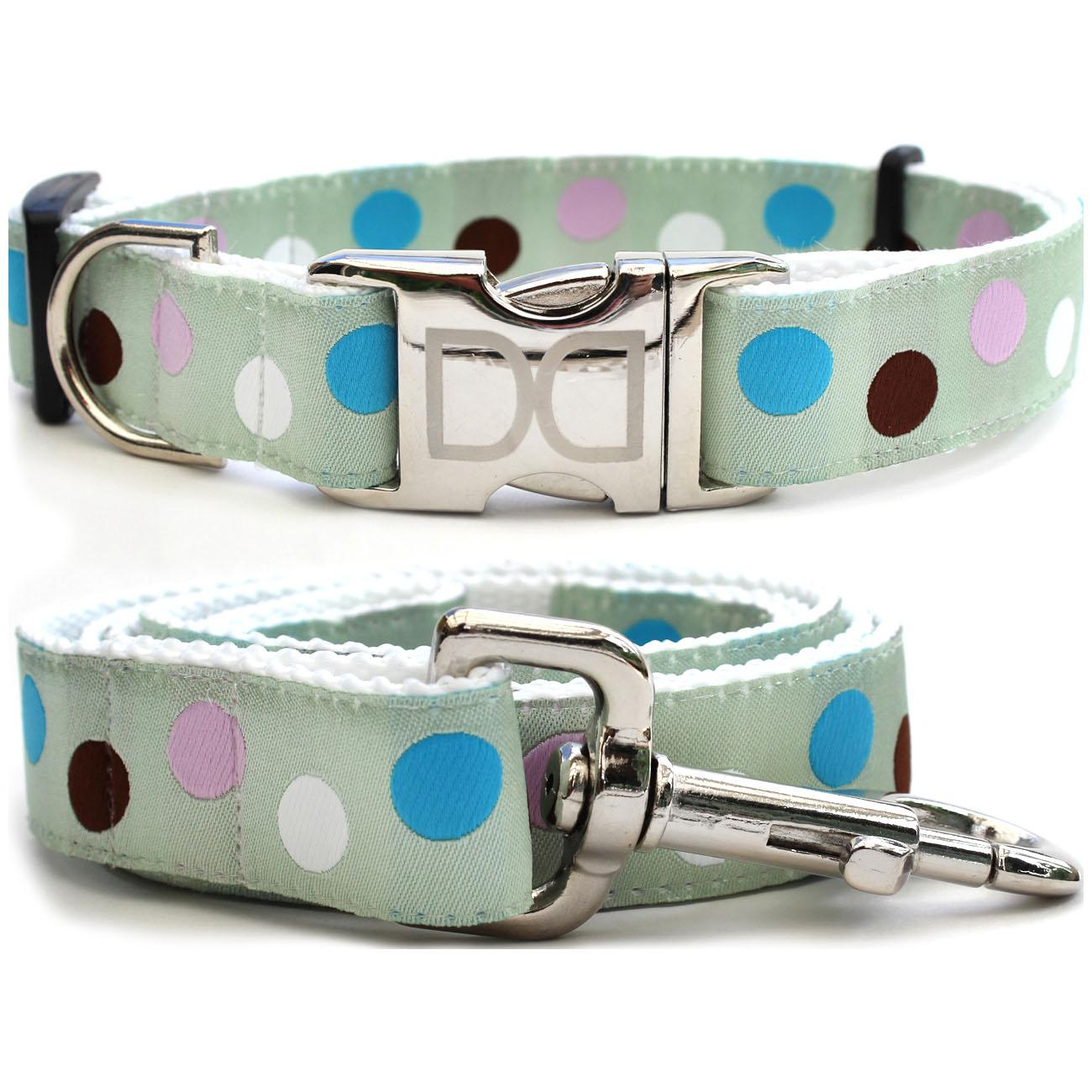 Metro Dog Collar and Leash Set by Diva Dog