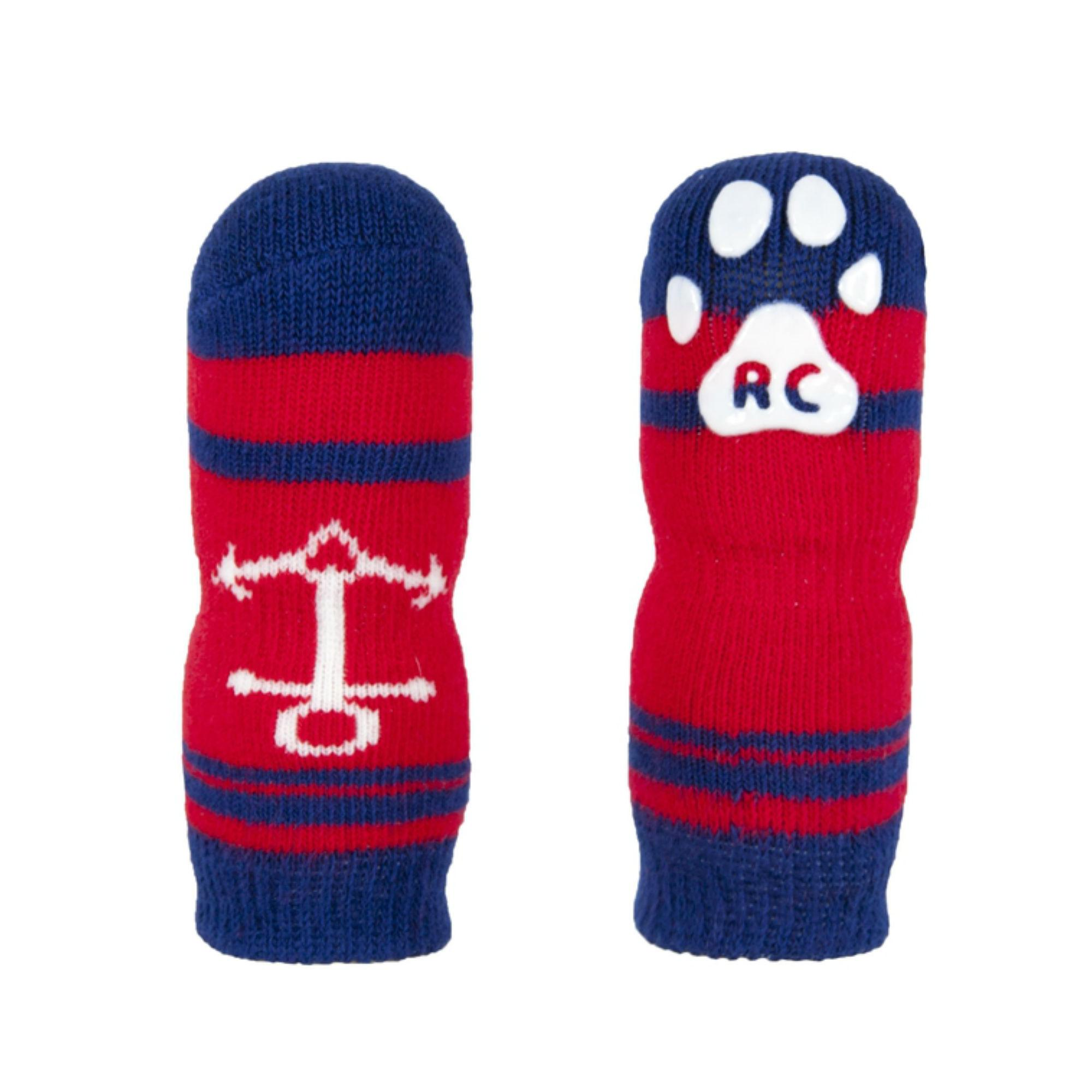 Nautical PAWks Dog Socks