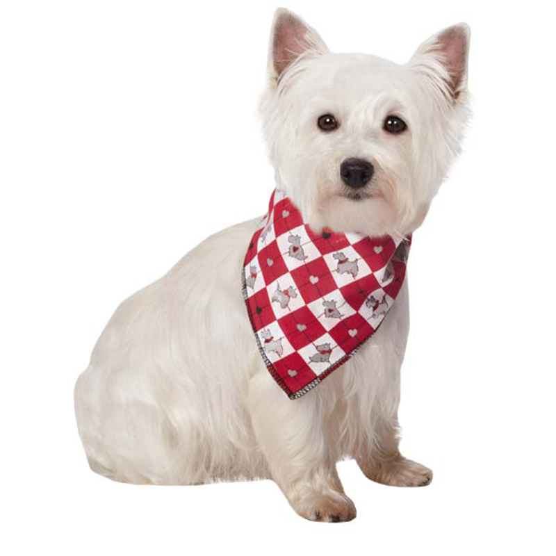 Sweetheart Scottie Dog Bandana