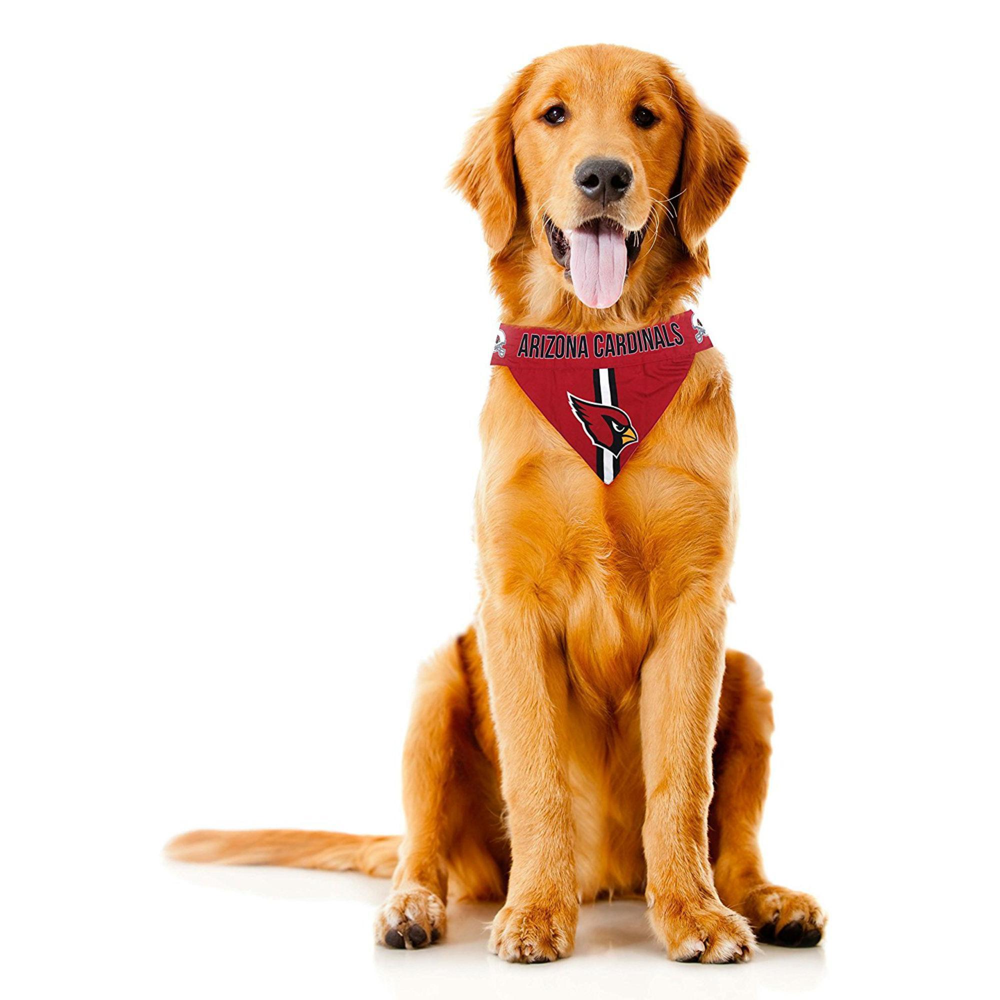 buy online 658c3 3601a Arizona Cardinals Tie On Dog Bandana